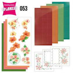 (SPDO053)Sparkles Set 53 - Jeanine's Art - Exotic Flowers