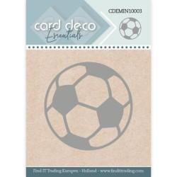(CDEMIN10003)Card Deco Essentials - Mini Dies - Football