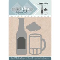(CDEMIN10005)Card Deco Essentials - Mini Dies - Beer