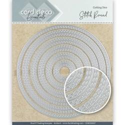 (CDECD0027)Card Deco Essentials Cutting Dies Stitch Round