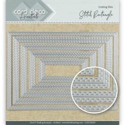 (CDECD0029)Card Deco Essentials Cutting Dies Stitch Rectangle