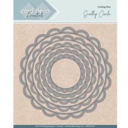 (CDECD0099)Card Deco Essentials - Nesting Dies - Scallop Circle