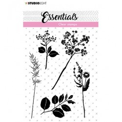 (SL-ES-STAMP22)Studio light Stamp Flowers/leaves Essentials nr.22