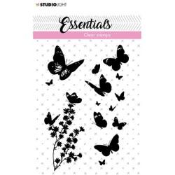 (SL-ES-STAMP24)Studio light Stamp Butterflies Essentials nr.24