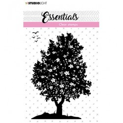 (SL-ES-STAMP26)Studio light Stamp Flower bush Essentials nr.26