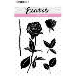 (SL-ES-STAMP28)Studio light Stamp Roses Essentials nr.28