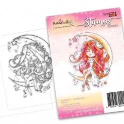 (PD7850)Polkadoodles Serenity Stardust Clear Stamps