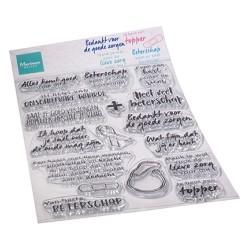 (CS1080)Clear stamp Zorg & herstel