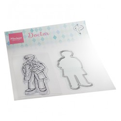 (HT1660)Clear stamp Hetty's Doctor