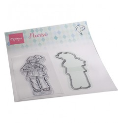 (HT1661)Clear stamp Hetty's Nurse