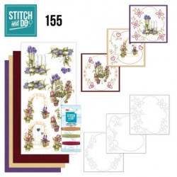 (STDO155)Stitch and Do 155 - Precious Marieke - Beautiful Garden - Allium