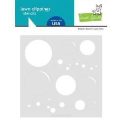 (LF2535)Lawn Fawn Big Bubble Stencil