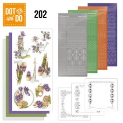 (DODO202)Dot and Do 202 - Precious Marieke - Beautiful Garden - Butterfly