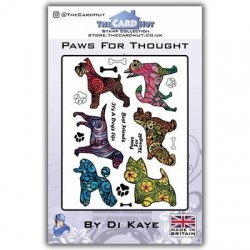 (DKPFT)The Card Hut Paws For Thought Clear Stamps