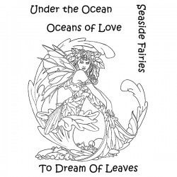 (LCMC007)The Card Hut Mythical Creatures: To Dream Of Leaves CLear Stamps