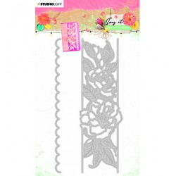 (SL-SWF-CD401)Studio Light SL Cutting & Emb. Die Say it with flowers nr.401