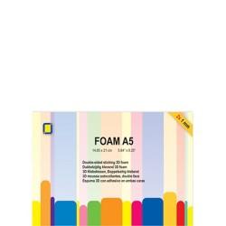 (3.3241)3D Foam A5, 1mm 2 sheets