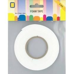 (3.3000)3D Foam Tape 2 m x 12 mm x 2 mm