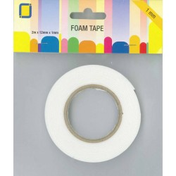 (3.3010)3D Foam Tape 2 m x 12 mm x 1 mm