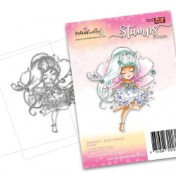 (PD7848)Polkadoodles Serenity Daisy Dance Clear Stamps