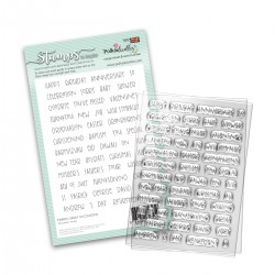 (PD8025)Polkadoodles Great Occasions Clear Stamps