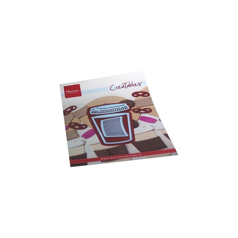 (LR0714)Creatables Coffee to go
