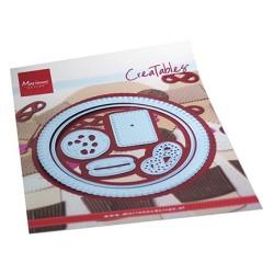 (LR0715)Creatables Biscuit doily