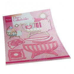 (COL1495)Collectables Eline's Baby cot