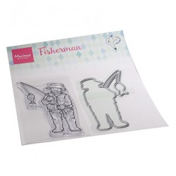 (HT1663)Clear stamp Hetty's Fisherman