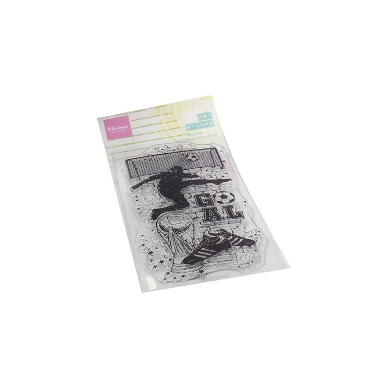(MM1645)Art stamps Soccer