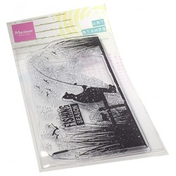 (MM1646)Art stamps Fishing