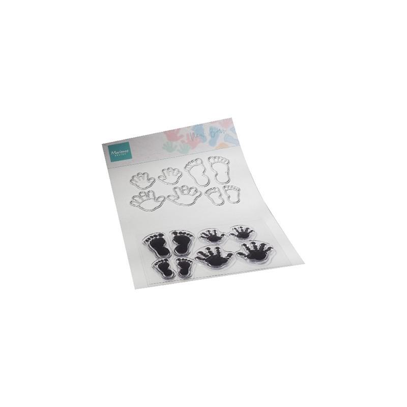 (CS1085)Clear stamp New born