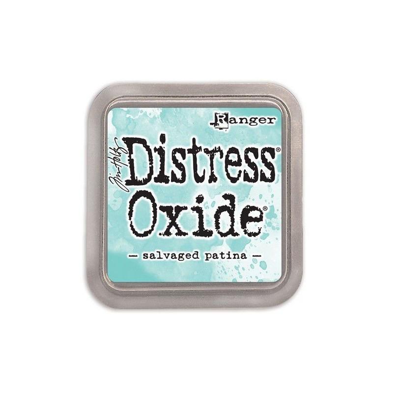 (TDO72751)Tim Holtz distress oxide Salvaged patina