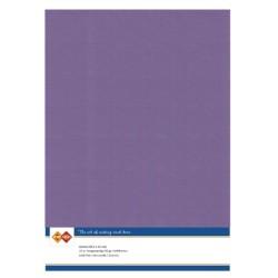 (LKK-A462)Linen Cardstock - A4 - Grape