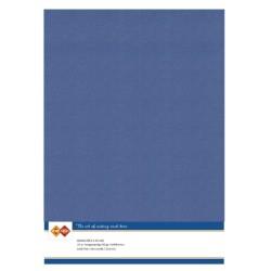 (LKK-A464)Linen Cardstock - A4 - Jeans
