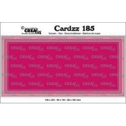 (CLCZ185)Crealies Cardzz Slimline E dots 10,0x20,5cm