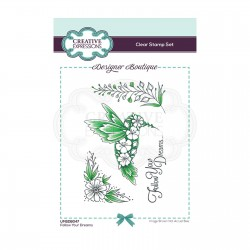 (UMSDB047)Creative Expressions Clear stamp Designer boutique Your Dreams