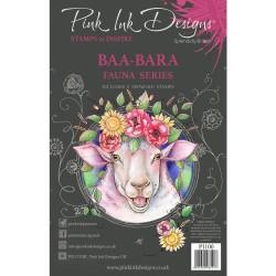 (PI100)Pink Ink Designs Clear stamp set Baa-bara