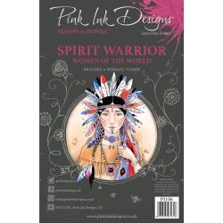 (PI106)Pink Ink Designs Clear stamp set Spirit warrior