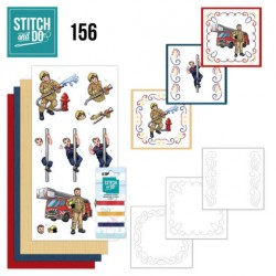 (STDO156)Stitch and Do 156 - Yvonne Creations - Big Guys - Professions