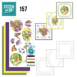 (STDO157)Stitch and Do 157 - Jeanine's Art - Butterfly Touch