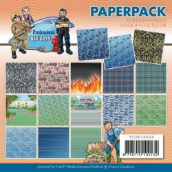 (YCPP10039)Paperpack - Yvonne Creations - Big Guys Professions