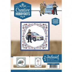 (CH10014)Creative Hobbydots 14 Yvonne Creations - Big Guys - Professions
