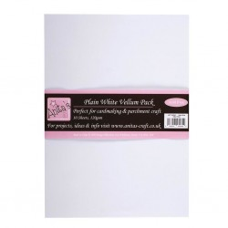 (ANT 1622001)Anita's A4 Parchment Vellum Plain White 115-120gsm(10sheets)