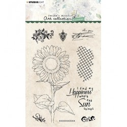 (JMA-ES-STAMP66)Studio light JMA Clear Stamp Sunflower Essentials nr.66