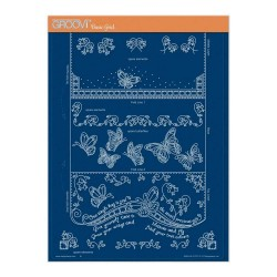 (GRO-LW-41727-16)Groovi plate A4 - LINDA'S IT'S A WRAP! PART 3 - BUTTERFLY TRIFOLD