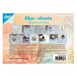 (6500/0034)Glue-sheets A5 - Quick and clean