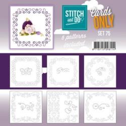 (COSTDO10075)Stitch and Do - Cards Only Stitch 4K - 75