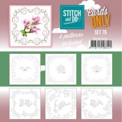 (COSTDO10076)Stitch and Do - Cards Only Stitch 4K - 76