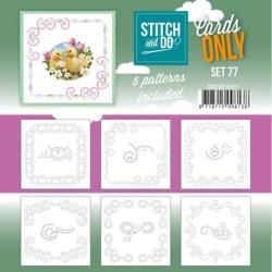 (COSTDO10077)Stitch and Do - Cards Only Stitch 4K - 77